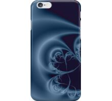 BLUE MOON IN THE NIGHT SKY iPhone Case/Skin