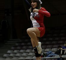 CSU-Pueblo Cheerleader @ RMAC Tournament by Carl M. Moore