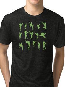 Flying Green Fairy Tri-blend T-Shirt