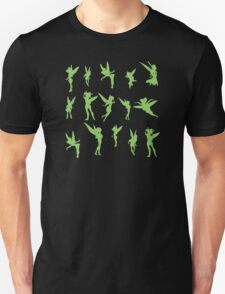 Flying Green Fairy Unisex T-Shirt