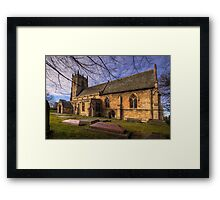 St Peter's & St Paul's Church in  Barnby Dun Framed Print