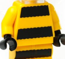 Bumble bee Minifig Sticker