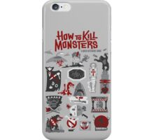 How to Kill Monsters iPhone Case/Skin