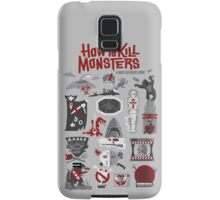 How to Kill Monsters Samsung Galaxy Case/Skin