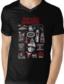 How to Kill Monsters Mens V-Neck T-Shirt