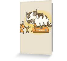 Ride The Sky Bison Greeting Card