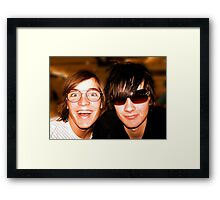 2 Cool Framed Print
