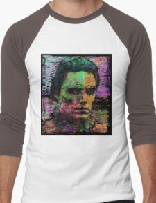 Walken Around Town. Men's Baseball ¾ T-Shirt