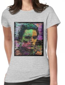Walken Around Town. Womens Fitted T-Shirt