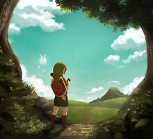 The Legend of Zelda: Ocarina of Time - The Outset of a Journey by kiiroikat