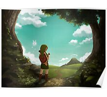 The Legend of Zelda: Ocarina of Time - The Outset of a Journey Poster
