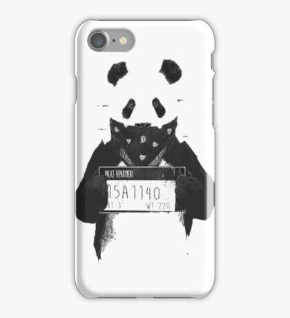 Bad Banksy Panda iPhone Case/Skin