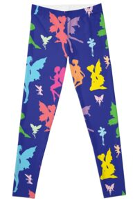 Colorful Flying Fairy Leggings