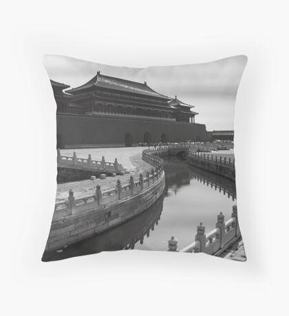 Tiananmen Gate - Forbidden City - Beijing Throw Pillow