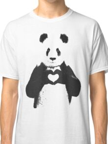 All You Need is Love Banksy Panda Classic T-Shirt