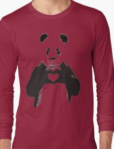 All You Need is Love Banksy Panda Long Sleeve T-Shirt