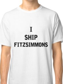 I Ship Fitzsimmons Classic T-Shirt
