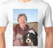 Cathie(photographer) & her Cavalier King Charles Terrior, Darling Unisex T-Shirt