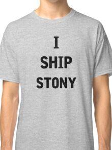 I Ship Stony Classic T-Shirt