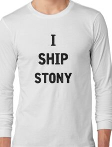 I Ship Stony Long Sleeve T-Shirt