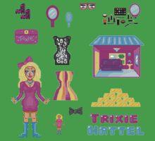 Pixel Trixie Mattel Baby Tee