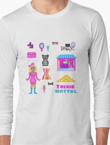Pixel Trixie Mattel Long Sleeve T-Shirt