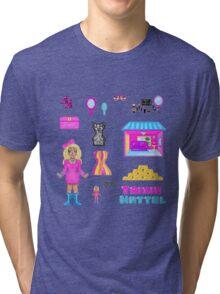 Pixel Trixie Mattel Tri-blend T-Shirt