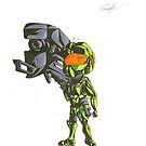 Master Chief - The harder they fall by Ein-Panda