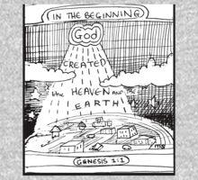 GENESIS 1:1 IN THE BEGINNING One Piece - Long Sleeve