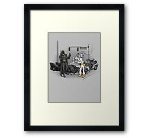 Great Scott, Holy Fender Benders  Framed Print