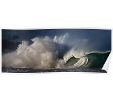 Winter Waves At Waimea Bay 4 Poster
