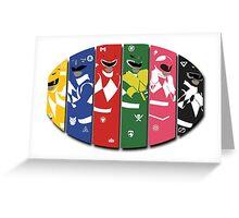 Generation Rangers Greeting Card