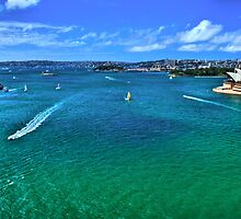 Sydney Harbour - Australia by Bryan Freeman