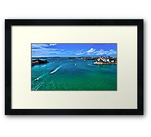 Sydney Harbour - Australia Framed Print