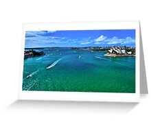 Sydney Harbour - Australia Greeting Card