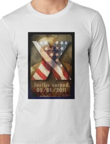 Justice Served. Long Sleeve T-Shirt