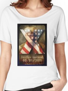 Justice Served. Women's Relaxed Fit T-Shirt