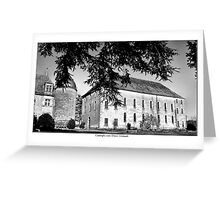 Chateau de Graves Greeting Card