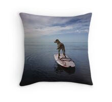Owning the day Throw Pillow