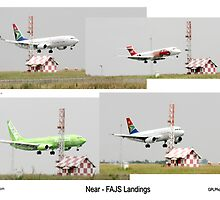 FAJS - Landings composit by Paul Lindenberg