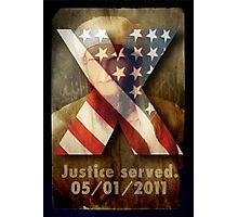 Justice Served. Photographic Print