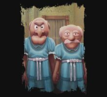 Muppet Maniac - Statler & Waldorf as the Grady Twins One Piece - Long Sleeve