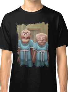 Muppet Maniac - Statler & Waldorf as the Grady Twins Classic T-Shirt