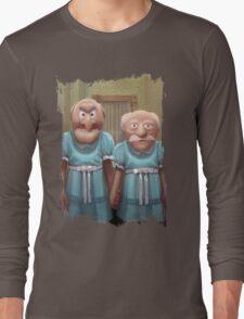 Muppet Maniac - Statler & Waldorf as the Grady Twins Long Sleeve T-Shirt