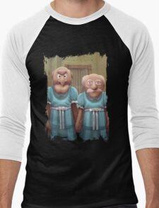 Muppet Maniac - Statler & Waldorf as the Grady Twins Men's Baseball ¾ T-Shirt