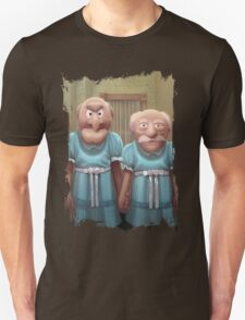 Muppet Maniac - Statler & Waldorf as the Grady Twins Unisex T-Shirt