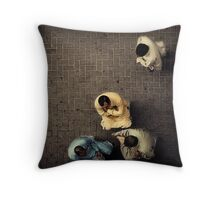 The Meeting of the Minds #0101 Throw Pillow