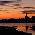 Serene Sunset, Bosham, West Sussex by Jane Burridge