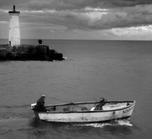 Going Fishing Grau d'Agde France by Paul Pasco