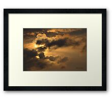 Sometimes One Is Lost for Words Framed Print